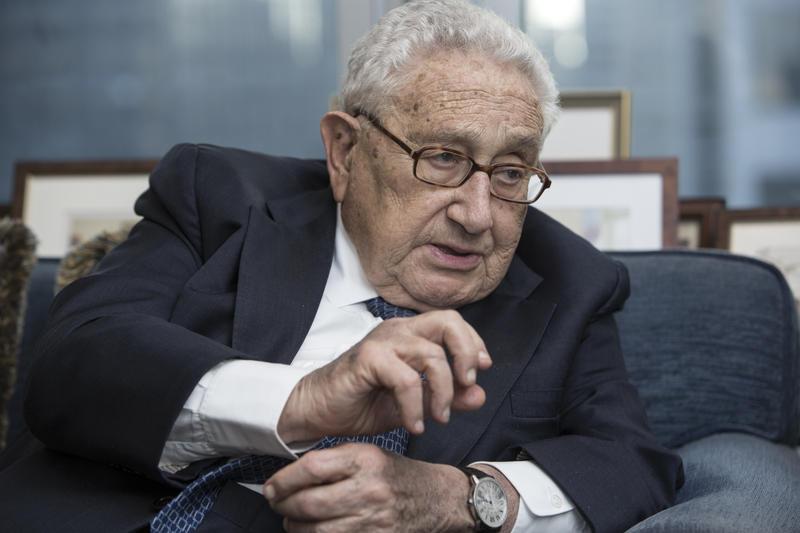Henry Kissinger Architect Of The New World Order