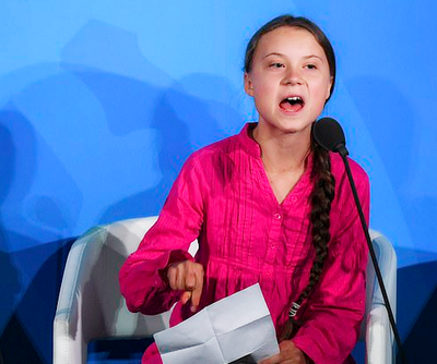 GretaThunberg was named Time Magazine's Person of the Year and has become the face for youth climate action