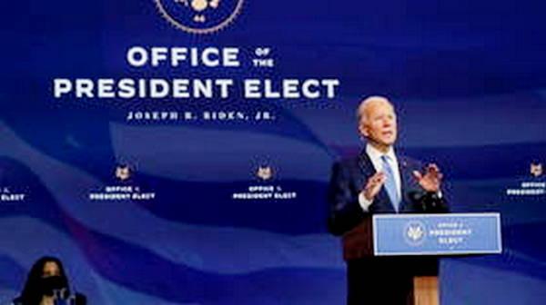 Electoral college formally designates Joe Biden US president-elect