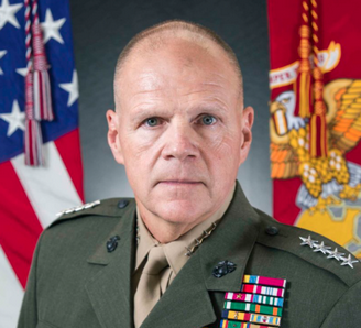 U.S. Marine Lt. Gen. Robert B. Neller, poses for a command board photo at Arlington, Va., Aug. 31, 2015. Neller posed for his official command board photo as the 37th Commandant of the Marine Corps. (U.S. Marine Corps photo by Sgt. Gabriela Garcia/Not Released)