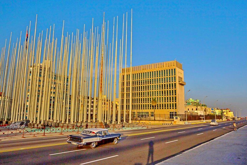 The U.S. Embassy in Havana. The mysterious symptoms that struck diplomats in Cuba and China were first reported in 2016.