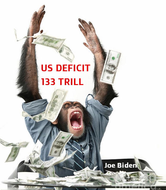 President Biden's first budget request calls for the federal government to spend $6 trillion in the 2022 fiscal year.